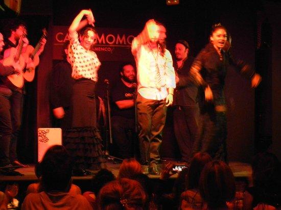 Cardamomo Tablao Flamenco : Трио танцоров
