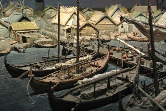 Musée de l'histoire de Suède : Historiska museet - Plastico villaggio svedese