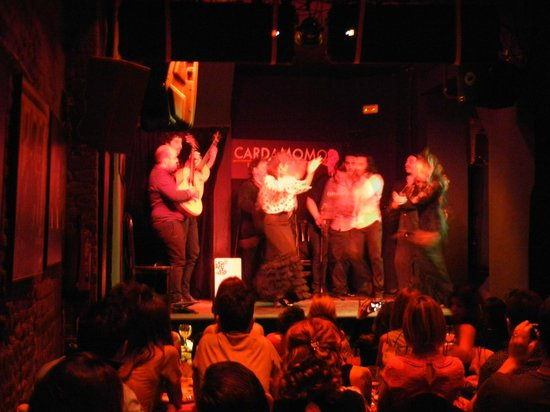 Cardamomo Tablao Flamenco : Группа