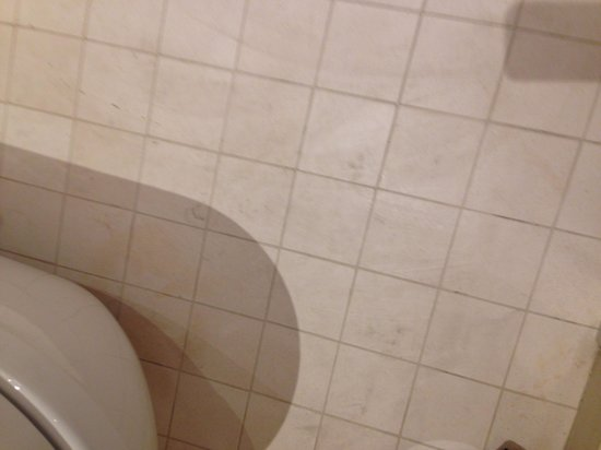 Mercure Moscow Paveletskaya: Badezimmerboden