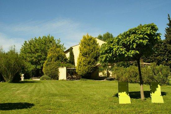 Côté Provence : Vue du Mas