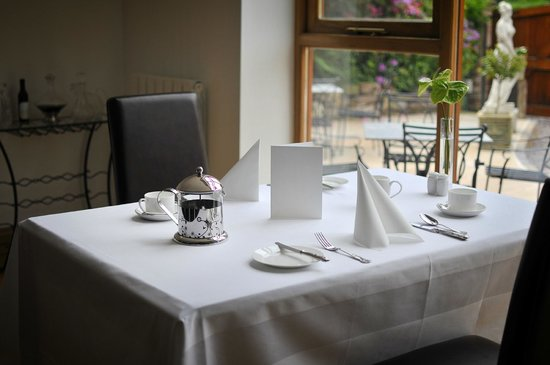 Cheshire Cooks: Take breakfast overlooking the terrace