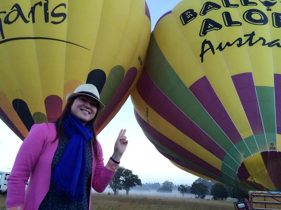 Balloon Aloft Hunter Valley Day Tours: 2 at one go