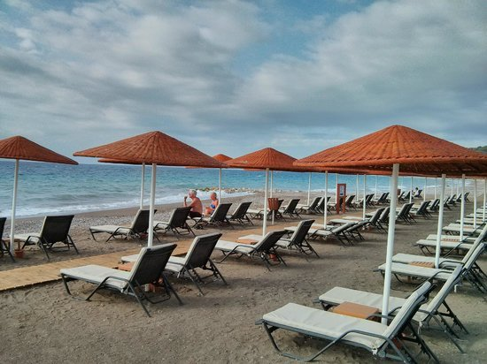 Sheraton Rhodes Resort: Hotelstrand