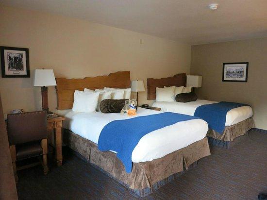 The Lexington at Jackson Hole: ツインベッドの部屋