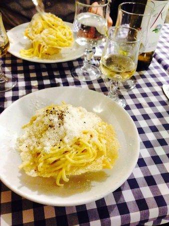 Ristorante Roma Sparita: Cacio e pepe