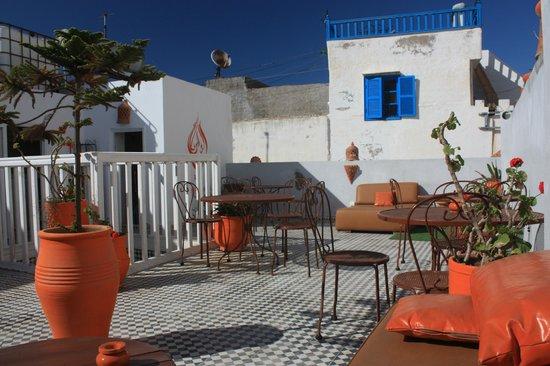 Riad Orange Cannelle : terrasse