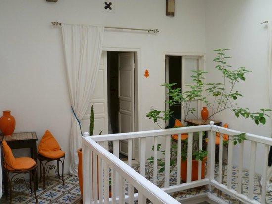 Riad Orange Cannelle : patio