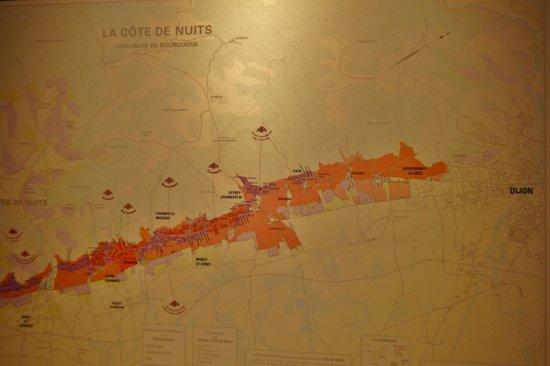 Novotel Dijon Sud : Ideale Lage