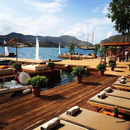 Karia Bel' Hotel & Restaurant: Setting