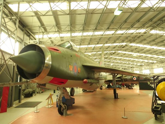 National Museum of Flight: English Electric Lightning