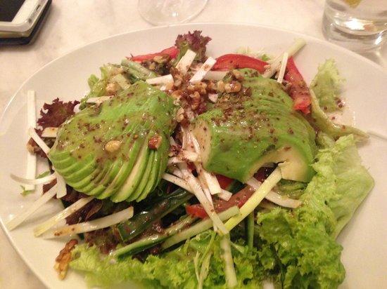 U Bistrot : Insalata di avocado