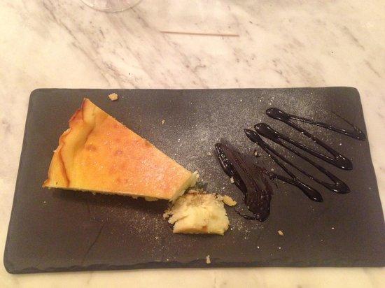 U Bistrot : Torta al cioccolato bianco