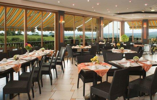 Rouffach, Pháp: Restaurant avec vue panoramique
