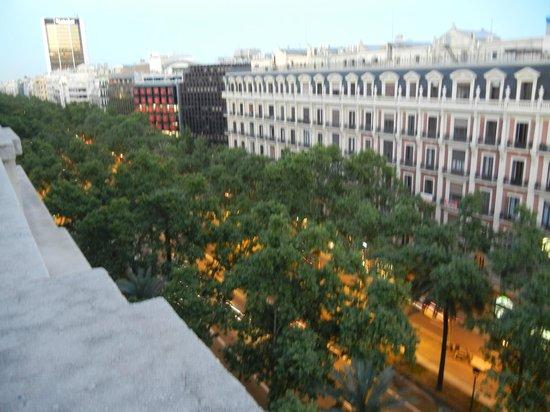 Wilson Boutique Hotel : Вид с террасы 7 этажа