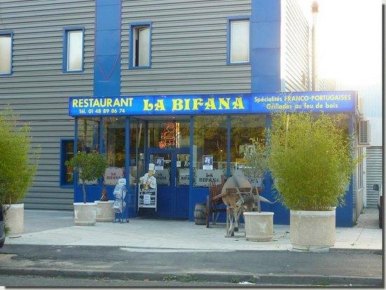 Creteil, Frankrike: Façade du restaurant