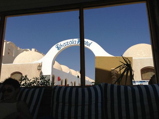 Ghazala Hotel: dalla spiaggia
