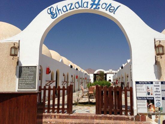 Ghazala Hotel: ingresso