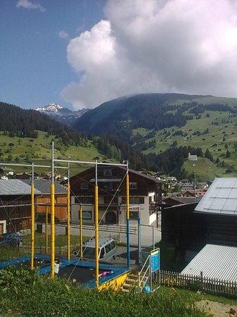 Familienhotel Alpina: Spielwiese