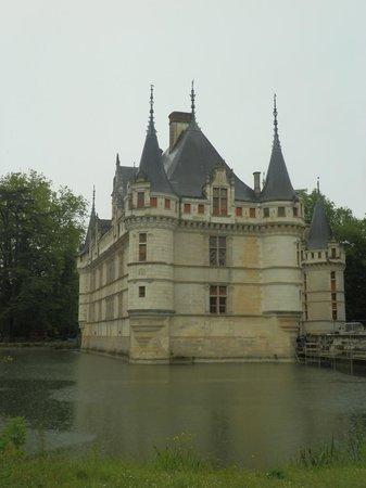 Château d'Azay-le-Rideau : Castello dal parco