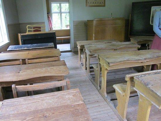 Freilichtmuseum Skansen: Klassenzimmer von damals