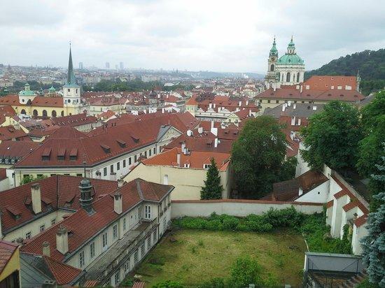 Castle District : uitzicht vanaf castle.