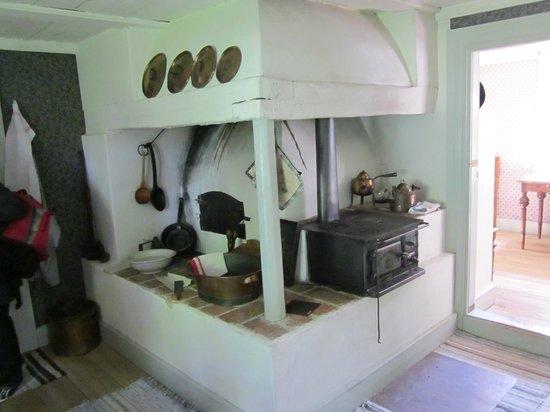 Freilichtmuseum Skansen: Küche von damals