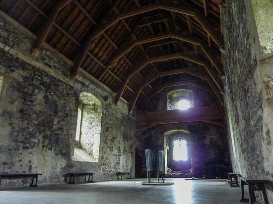 Doune Castle: Great Hall (Camelot from Holy Grail)