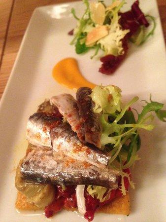 La Camarga : Dried tomatoes & Fresh sardines
