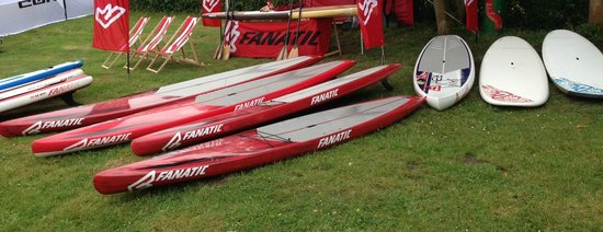 Flatwater SUP: Fanatic Boards
