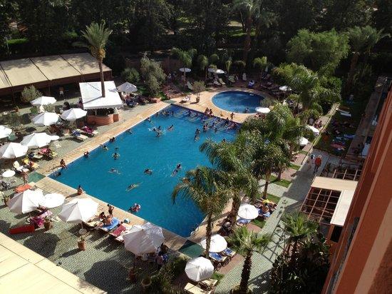 Hotel El Andalous: manif