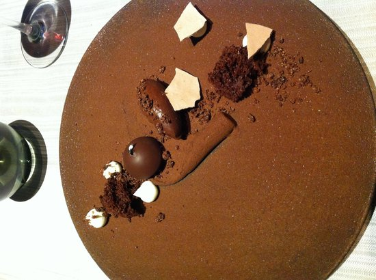 Chapeau Rouge Restaurant William Frachot : Dessert tout chocolat