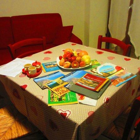 Agriturismo la Perla: Dining room/kitchen