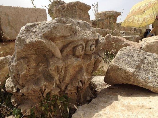 Ruines de Gérasa : .