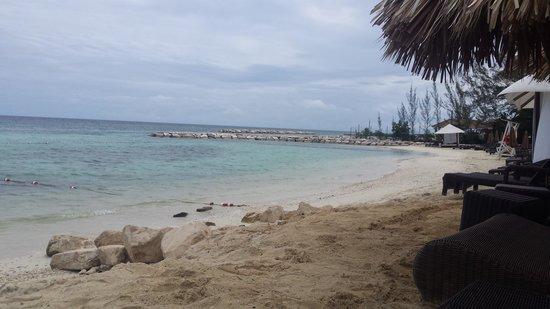 Secrets St. James Montego Bay: White sand blue sea