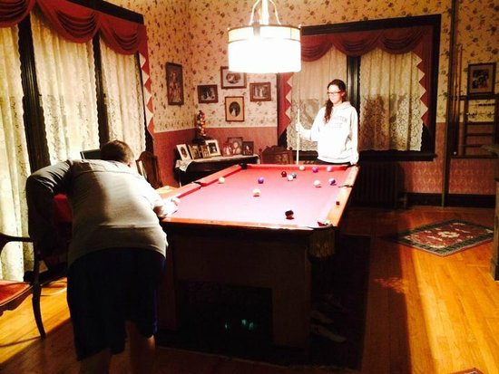Blooming Grove, Nova York: Pool Room