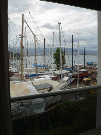 Marina Boutique Fethiye  Hotel: View from room over marina
