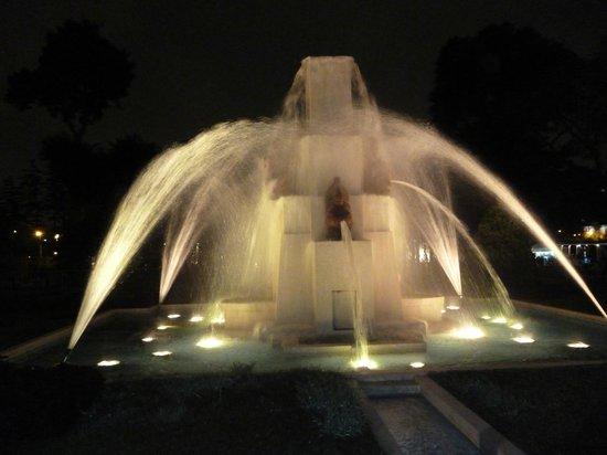 Circuito Magico del Agua: fontein