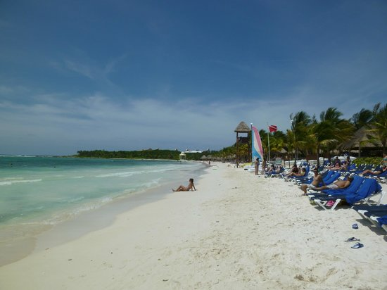 Grand Palladium Colonial Resort & Spa: Zona de playa