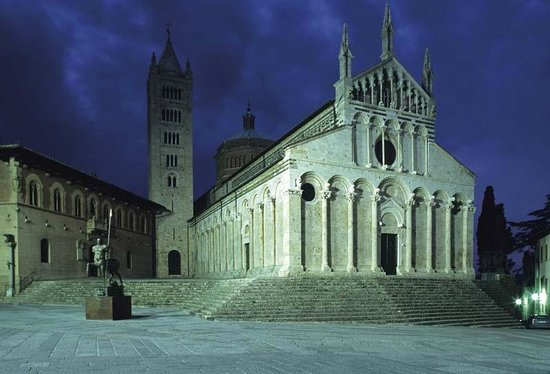 Agriturismo Podere Il Leccio : Duomo di Massa Marittima