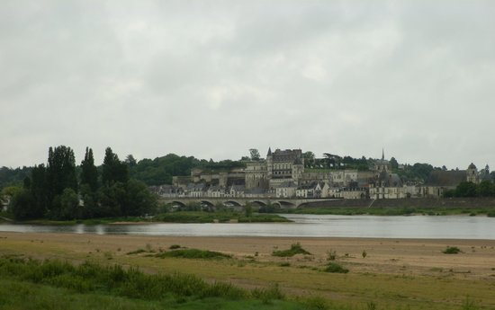 Chateau d'Amboise: Panorama di Amboise dalla Loira