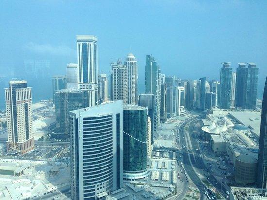 InterContinental Doha The City: vue de notre chambre