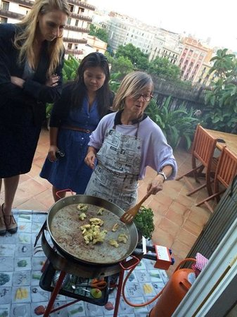 Marta's Private Paella Cooking Classes: Amazing Class