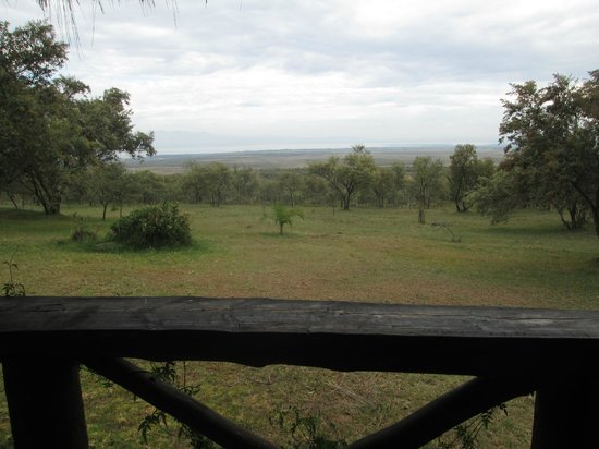 Mount Longonot Lodge: view from the bedroom