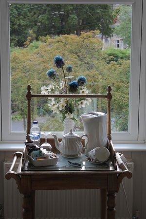Dunmurray Lodge: Complimentary tea/coffee/cocoa