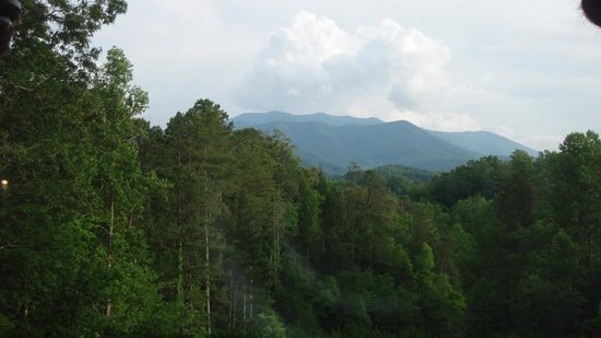 Buckhorn Inn: The view from our cottage