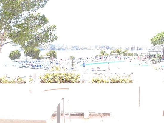 Apartotel Ponent Mar: view from balcony superior apartment
