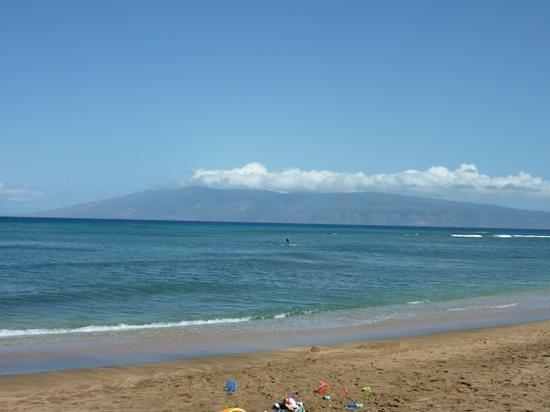 Sands of Kahana: the beach