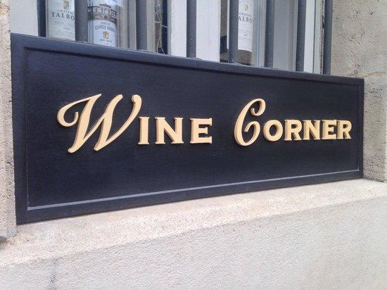 Le Wine Corner ! - Picture of Wine Corner, Bordeaux