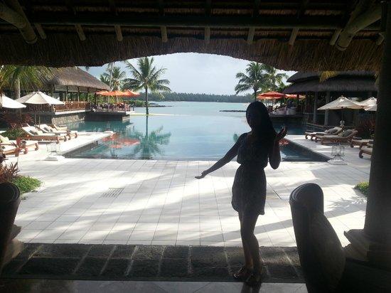 Constance Prince Maurice : pool